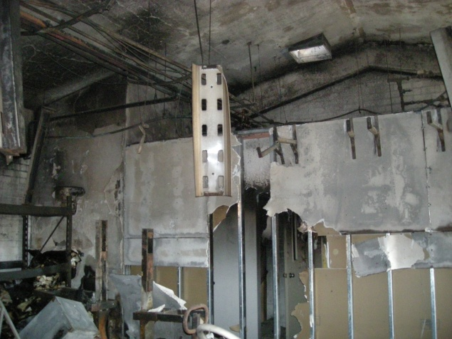 Fire in workshop 2