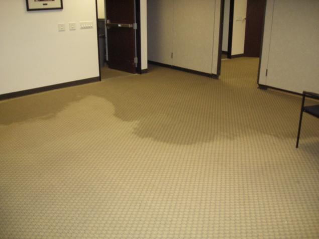Spreading accross floor